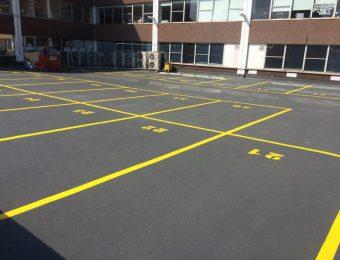Монтаж наливных полов для паркинга