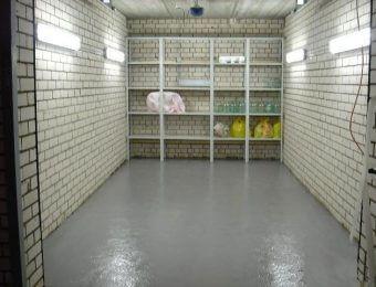 Наливной пол для склада под ключ
