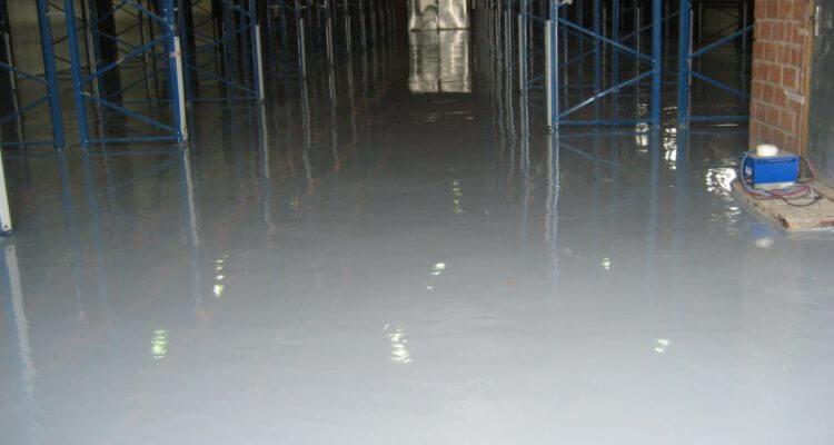 Полиуретановый промышленный наливной пол в Москве