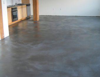 Фотография бетонных наливных полов