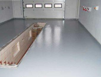 Цементно-акриловый наливной пол под ключ
