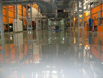 Полимерный промышленный наливной пол под ключ