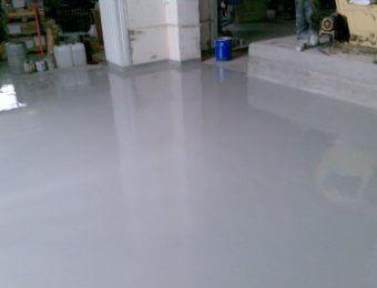 Фото цементно-полиуретановых полов