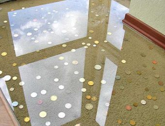 Прозрачный наливной пол