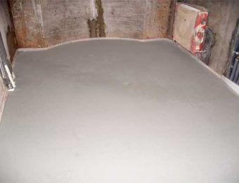 Цементно-акриловый наливной пол