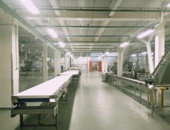 Фото наливных полов для производственных помещений