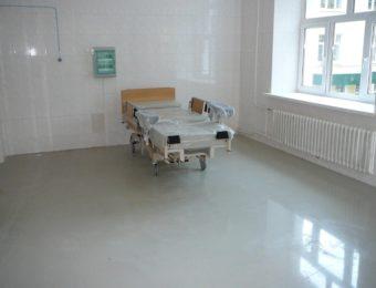 Наливной пол для поликлиники