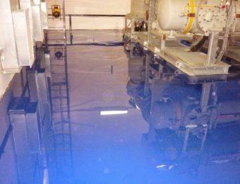 Фото наливных полов для технических помещений