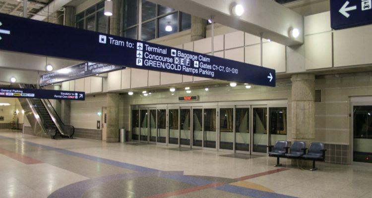 Наливной пол для терминала в Москве