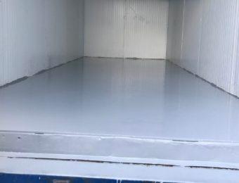 Наливной пол для морозильной камеры